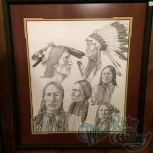 Collage of Native Americans